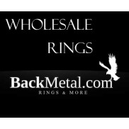 wholesale rings from BackMetal