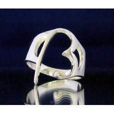 STERLING SILVER RING WITH GREEK LETTER BETA