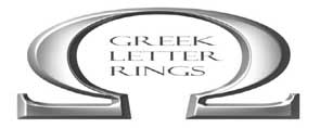 Greek letter rings